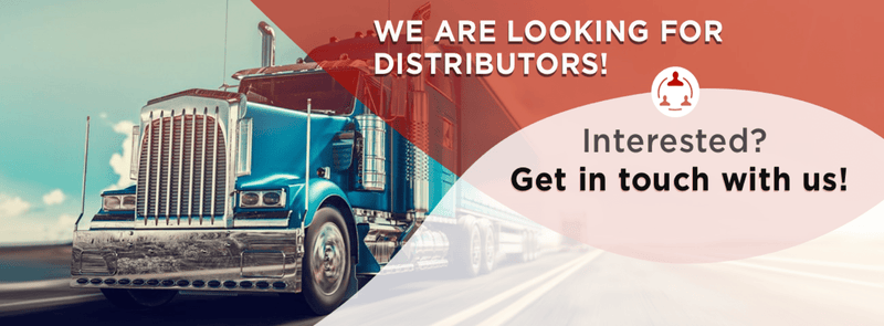We are looking for distributors! Interested? Get in touch with us! Semi-truck driving - small