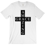 Amazing Grace Cross Short Sleeve Tee