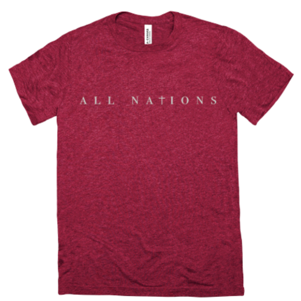 All Nations Tri-Blend Short Sleeve Tee
