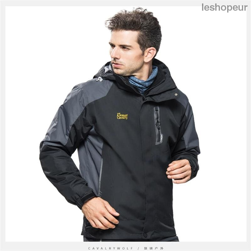 2018 Hot Sale Men Windbreaker Spring Autumn Camping Jacket Male Outdoor  Sport Clothes Waterproof Jackets Thermal ... 6e50d7488