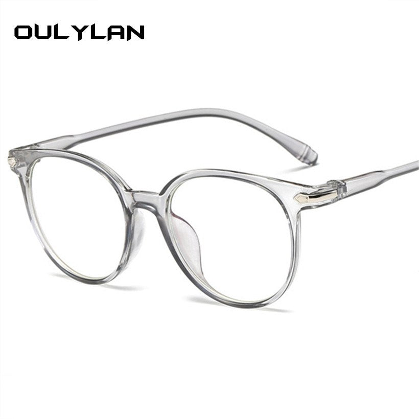 YOulylan Fashion Women Glasses Frame Vintage Eyeglasses Frames Men Ret