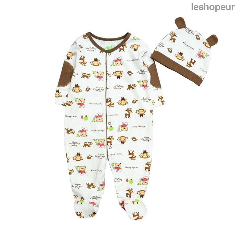 bd94b7eb6 Baby Rompers Long Sleeve Baby Girl Clothing Jumpsuits Children ...