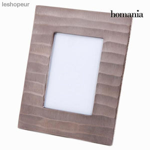 Photo Frame Aluminium 26 X 21 X 2 Cm New York Collection By Homania
