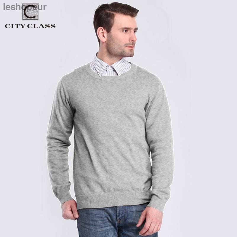 2992ee845bd Ville Classe 2018 Pull Et Pulls Hommes Pull Homme Blouse Masculina Solit  Couleur Casual 100% ...