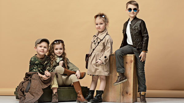 A stylish collection for kids