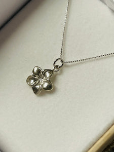 Plumeria Layering Necklace