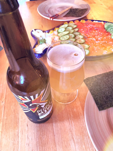 A La Minute Grisette and Deconstructed Dragon Roll