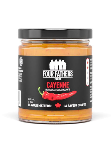 Four Fathers Cayenne Hot Sauce