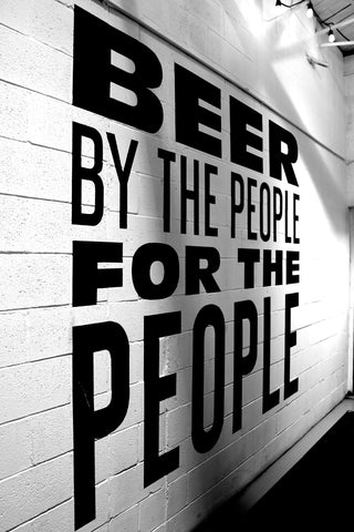 Beer By The People For the People