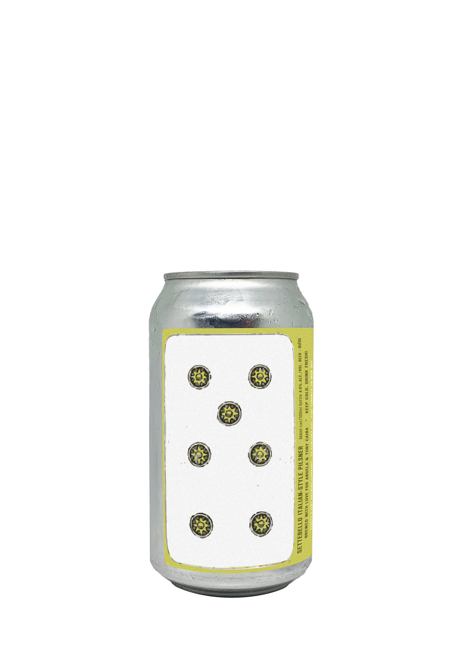 Settebello Italian Pilsner Short Can