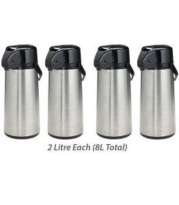 (FOUR) 2 Litre Hot Chaga Thermos