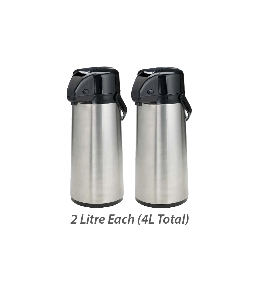 (TWO) 2 Litre Hot Chaga Thermos - Recurring