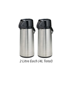 (TWO) 2 Litre Hot Chaga Thermos