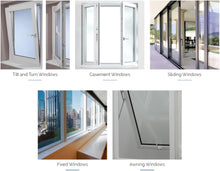 Load image into Gallery viewer, 7* uPVC Double Triple Glazed Windows Doors Energy Efficient Acoustic Class Thermal Insulation Performance Sustainable Passive Tiny House Living Aluplast Deceuninck Zendow Kommerling C70 Gold VEKA Softline MD82 Rehau Synego Siegenia Roto Bunnings Hardware