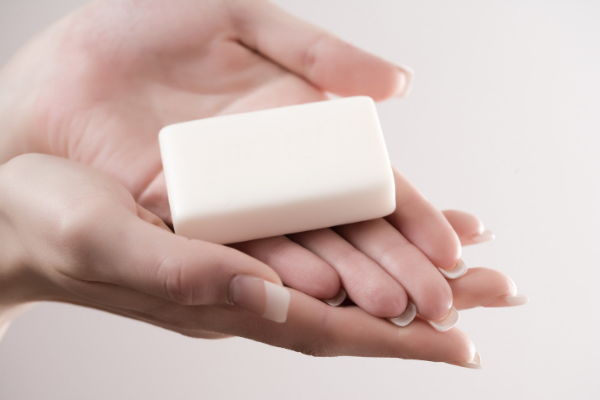 Bar Soap dries out your skin