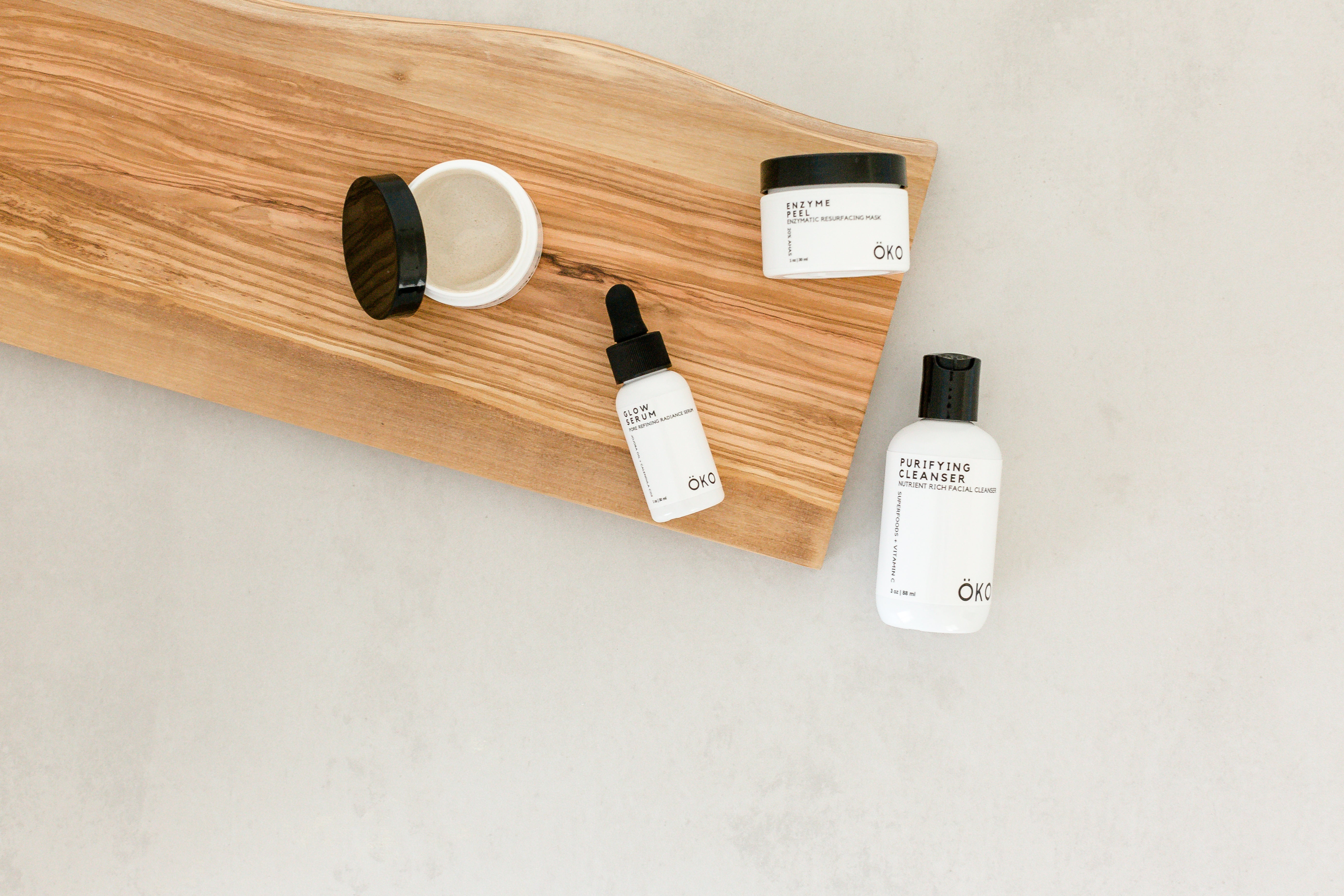 Natural skincare products by oko skincare