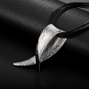 Collier d'inspiration ethnique: l'Interdit Silver