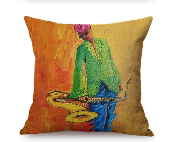 Taie de Coussin (45 x 45 cm) - Africa Dream 18