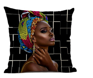 Taie de Coussin (45 x 45 cm) - Africa Dream 21