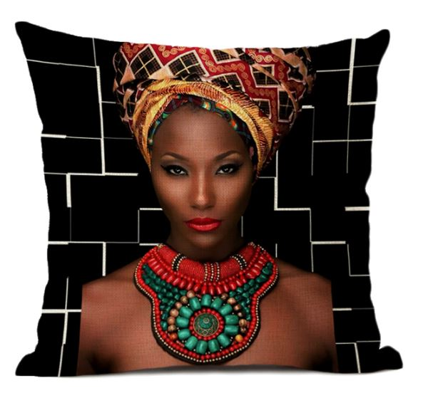 Taie de Coussin (45 x 45 cm) - Africa Dream 24