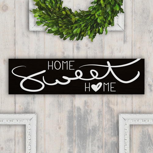 Home Sweet Home Wood Sign - Multiple Size and Stain Options