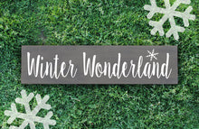 Winter Wonderland Wood Sign - Multiple Size and Stain Options - Holiday Christmas Winter Farmhouse Sign