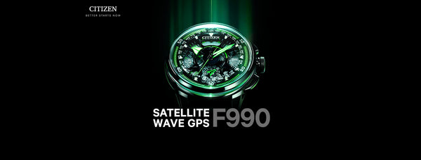 Citizen presenta el Satellite Wave GPS F990