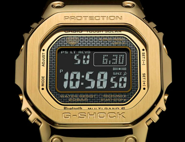 Reloj Casio tough solar GMW-B5000GD-9
