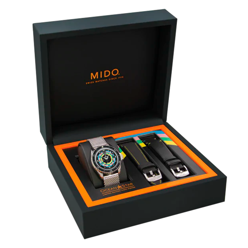 RELOJ MIDO OCEAN STAR DECOMPRESSION TIMER 1961 EDICION LIMITADA M0268071105100
