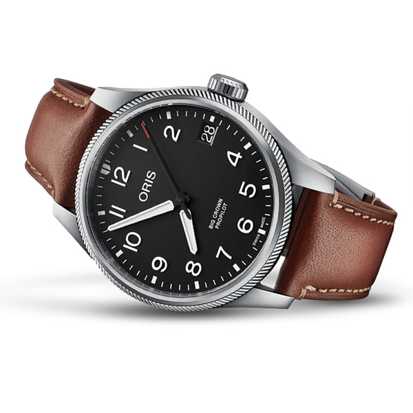 ORIS BIG CROWN PROPILOT BIG DATE CORREA BROWN OR75177614164PC
