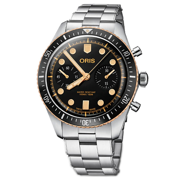 RELOJ ORIS DIVERS SIXTY-FIVE CHRONOGRAPH 	01 771 7744 4354-07 8 21 18