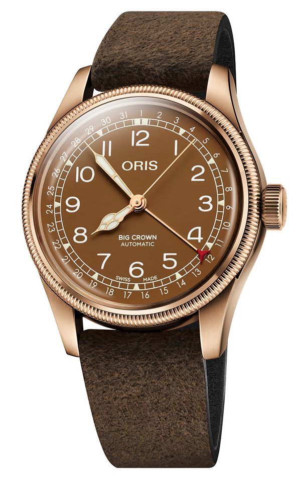 RELOJ ORIS BIG CROWN BRONZE POINTER DATE 	01 754 7741 3166-07 5 20 74BR