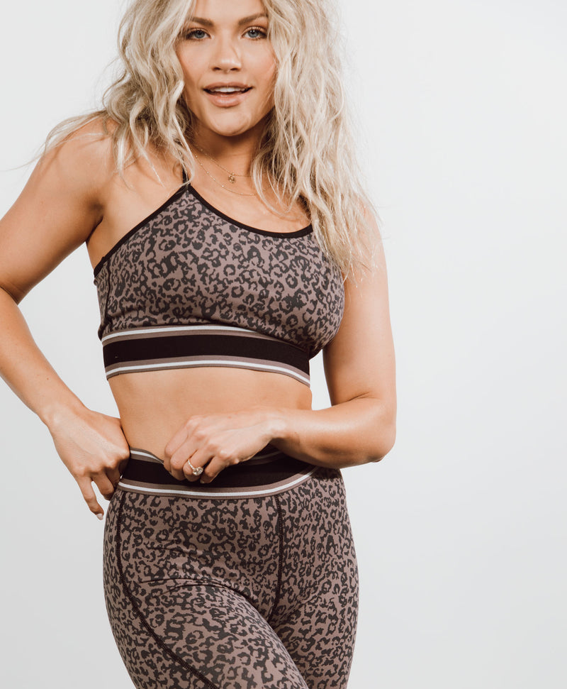 Cheetah Sports Bra