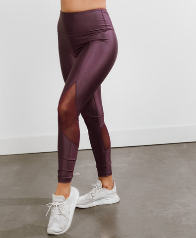 Lotus Leggings in Dusty Lavender