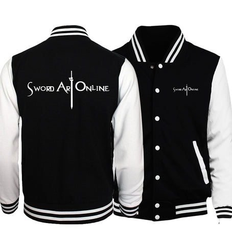 Sword Art Online Baseball/Varsity Jacket