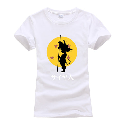 Young Goku Woman's Dragon Ball T-Shirt
