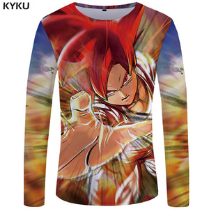 Dragon Ball Z Long-Sleeve T-Shirt Multiple Styles