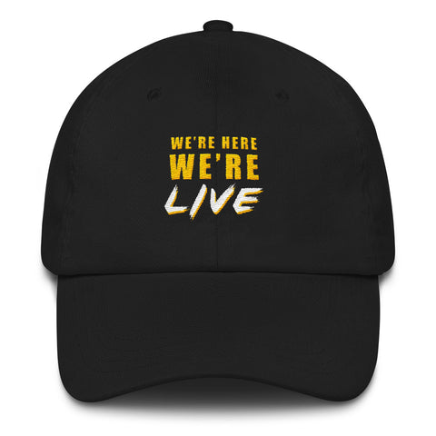 We're live hat