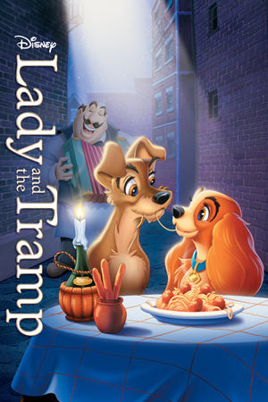 Disney's Lady and the Tramp movie cover