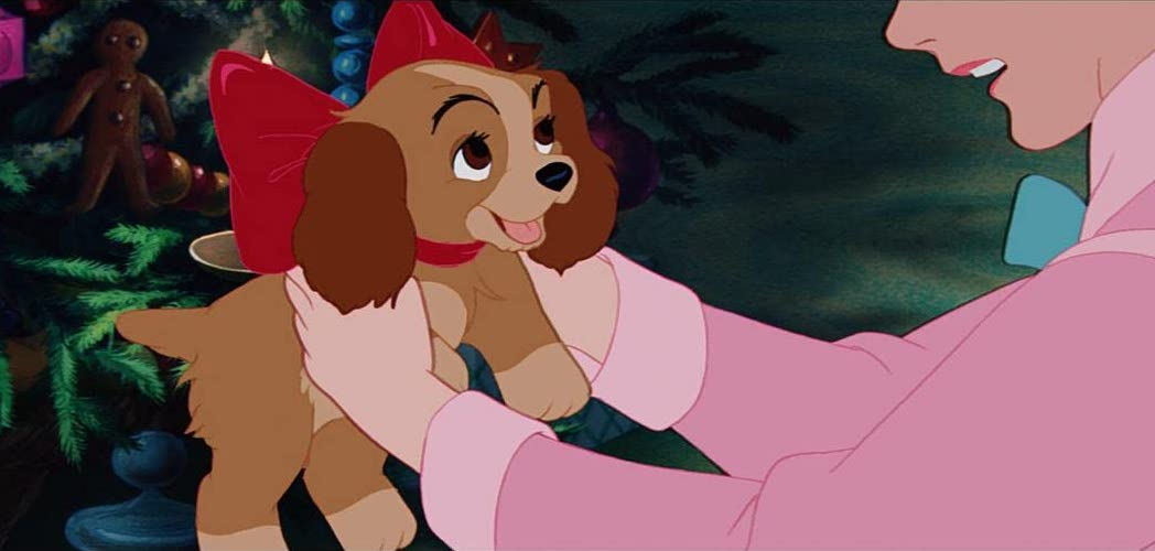Lady from the 'Lady and the Tramp' animated film.