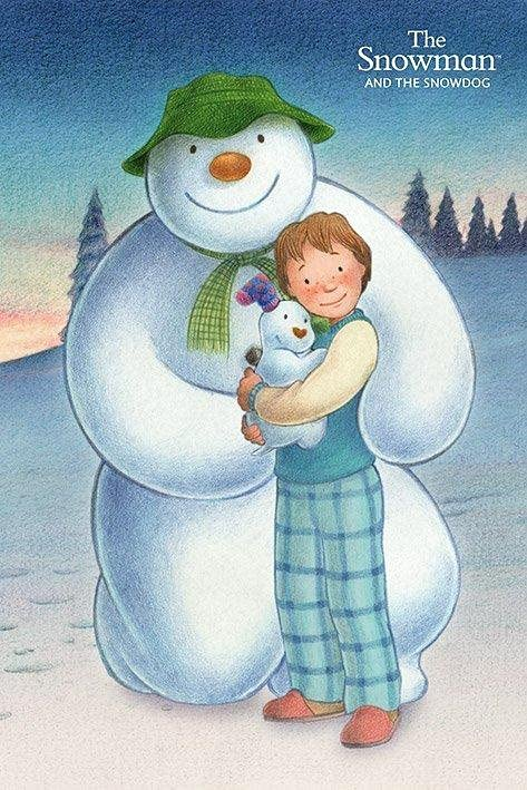 The Snowman and the Snowdog cover