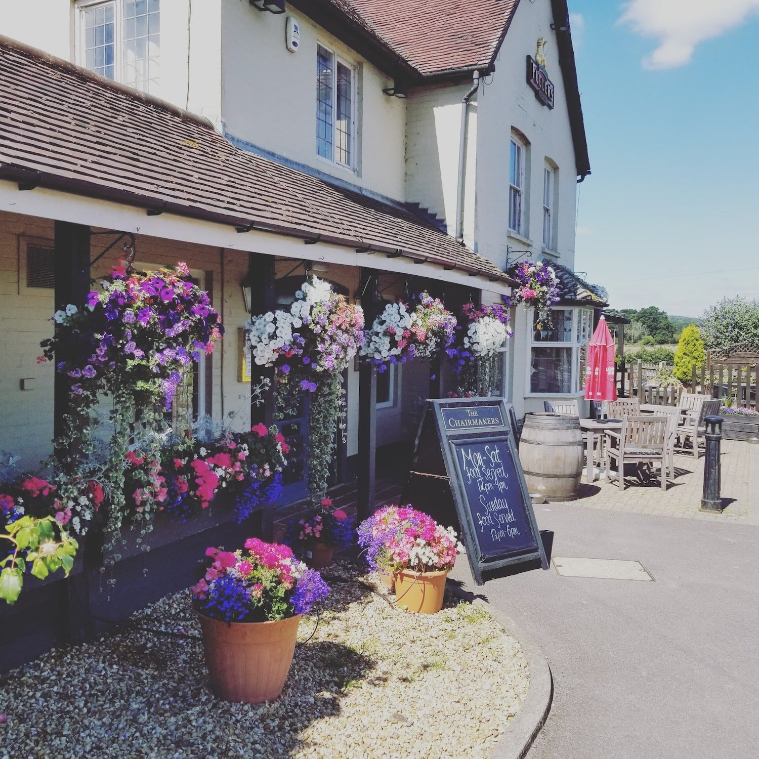 The Chairmakers Arms, Hambledon, Hampshire
