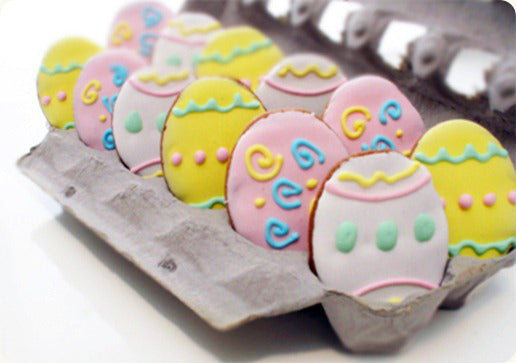 Easter egg cookies for dogs
