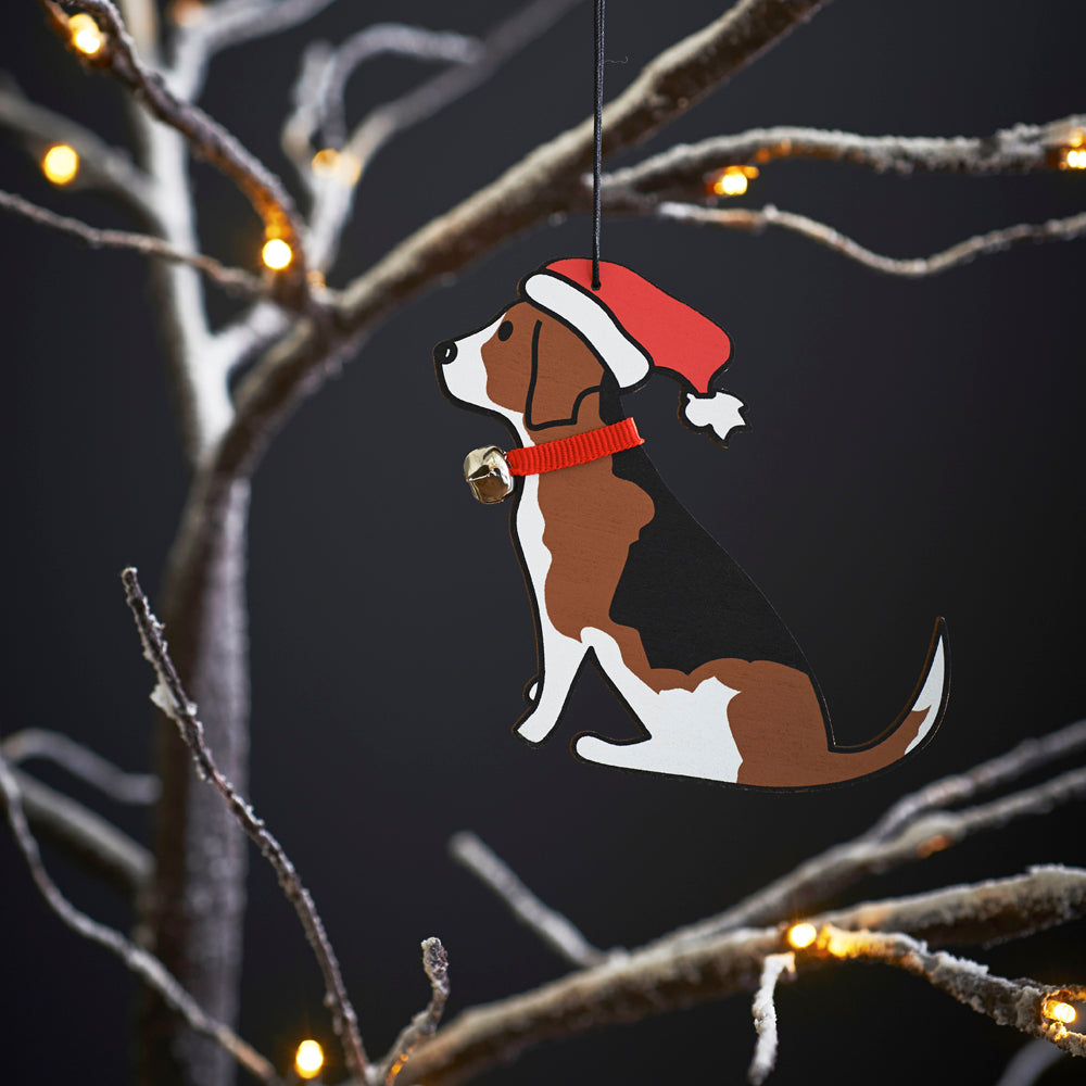 Beagle Christmas Decoration by Sweet William