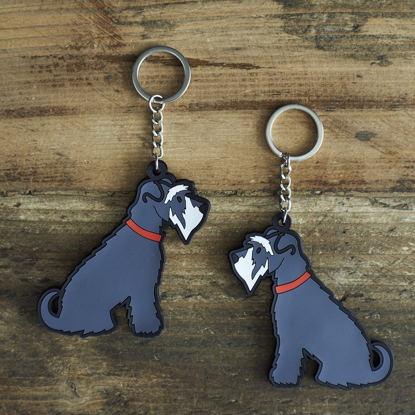 Schnauzer Key Ring by Sweet William