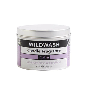 WildWash Natural Calm Candle - Tin