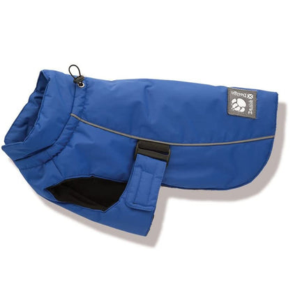 Danish Design Sports Luxe Winter Dog Coat in blue