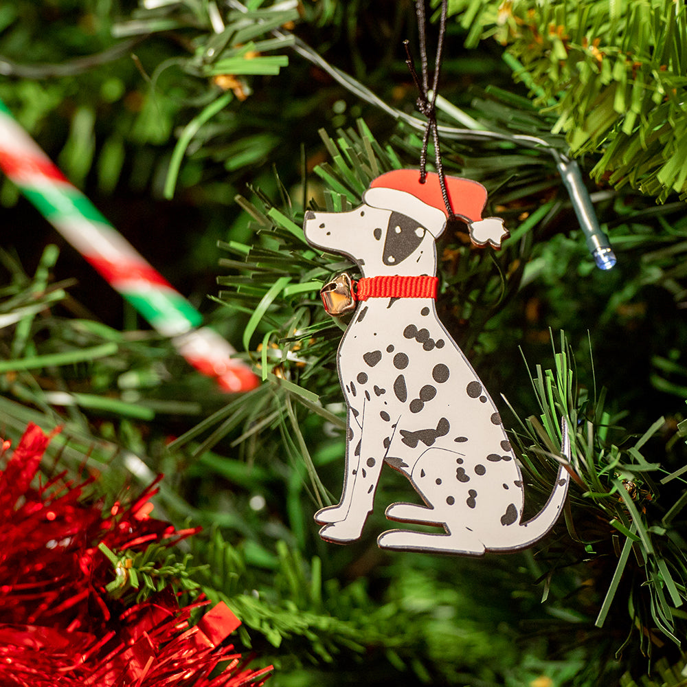 Dalmatian Christmas Decoration by Sweet William