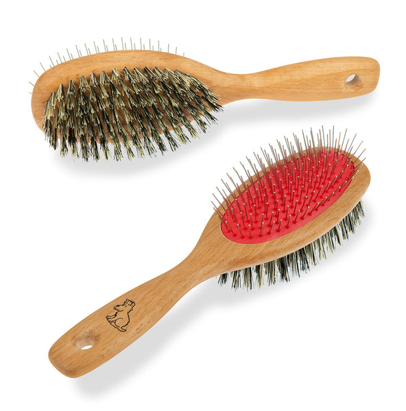 Mutts & Hounds double dog grooming brush