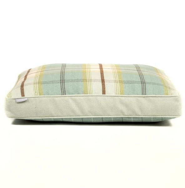 Duck Egg Balmoral Twist Cushion by Lords & Labradors